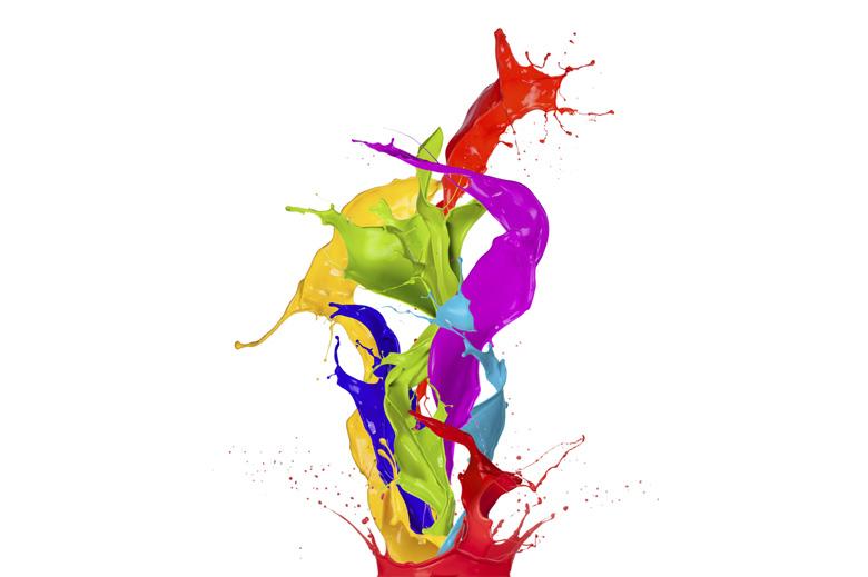 Peinture, encres et adhésifs