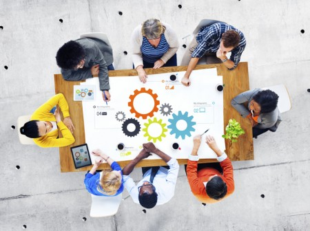 Group of Business People Meeting Teamwork